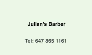 Julian's-Barber