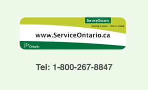 Service-Ontario